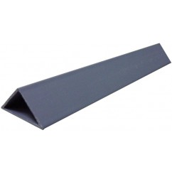 liteau triangulaire pvc simple
