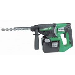 Perforateur burineur 26 mm SDS Plus 36V 2.6Ah HITACHI DH36DAL